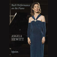 Angela Hewitt / Bach performance on the piano